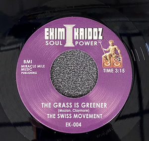 Soul Superiors - Trust In Me Baby / The Swiss Movement - The Grass Is Greener