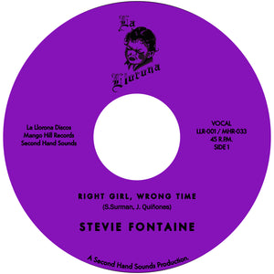 Stevie Fontaine - Right Girl, Wrong Time