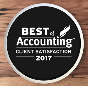 2017 Best of Accounting Award | Office Wall Mount