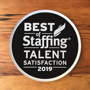 2019 Staffing Talent Award | Office Wall Mount
