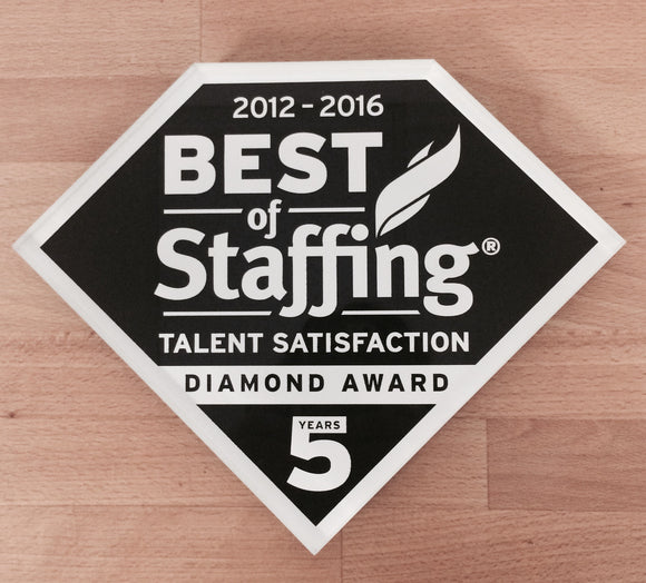 2016 Talent Diamond Award | Office Wall Mount