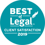 2019 Legal Client Award | Window Cling