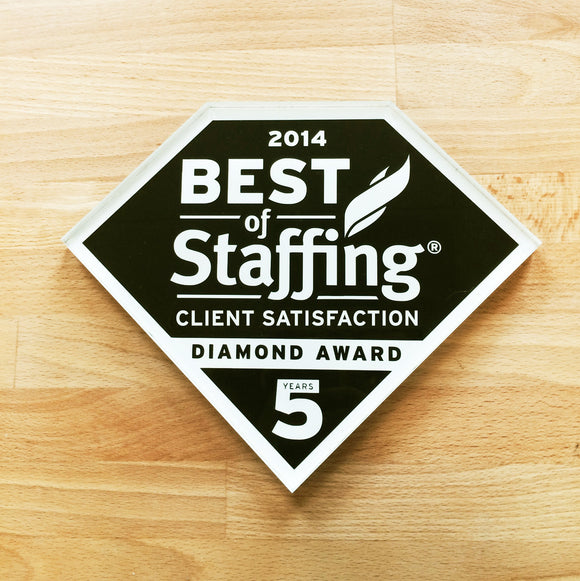2014 Client Diamond Award | Office Wall Mount