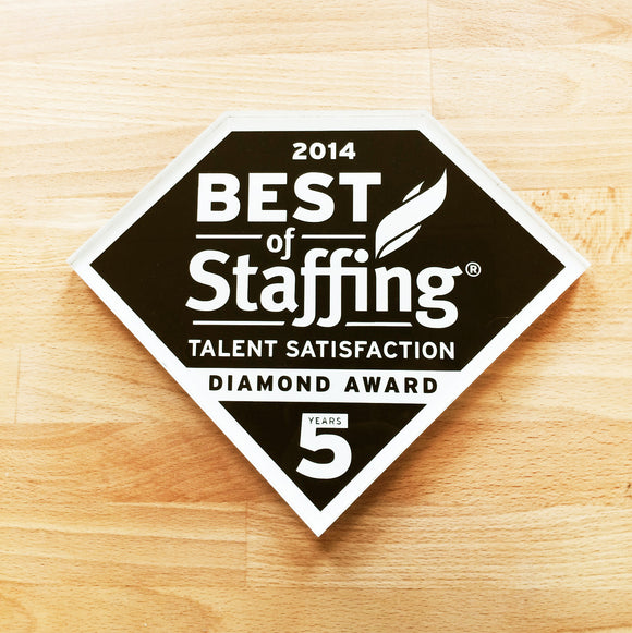 2014 Talent Diamond Award | Office Wall Mount