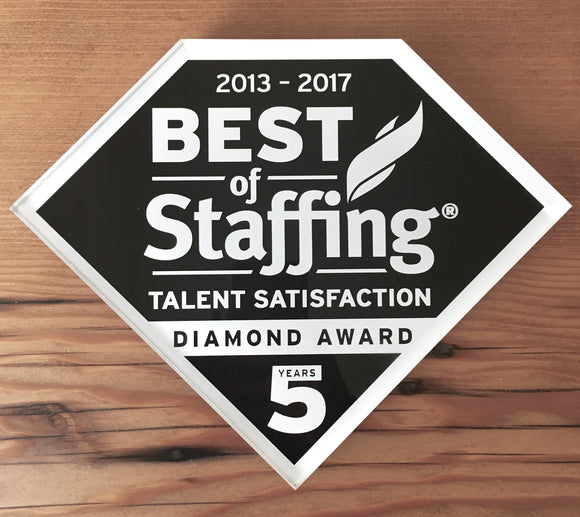 2017 Talent Diamond Award | Office Wall Mount