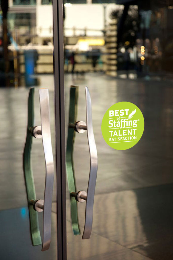 2019 Staffing Talent Award | Window Cling