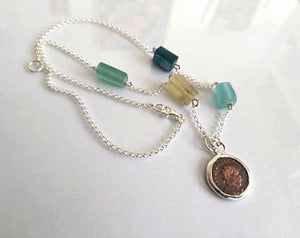 Ancient Roman Glass Necklace