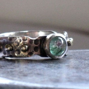 Two Tone Tourmaline Ring