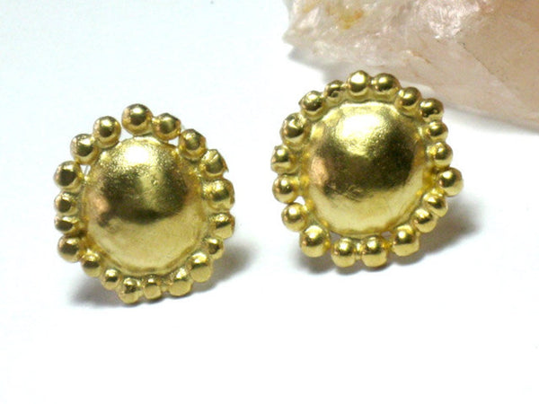 Everyday Gold Stud Earrings