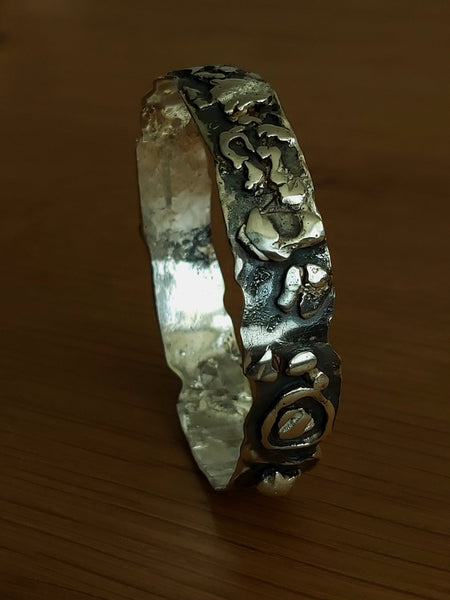 Statement Handcrafted Sterling Bangle
