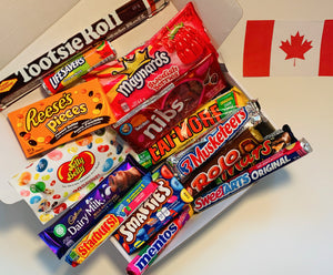 The Canadian Favourites Candy & Chocolate Box