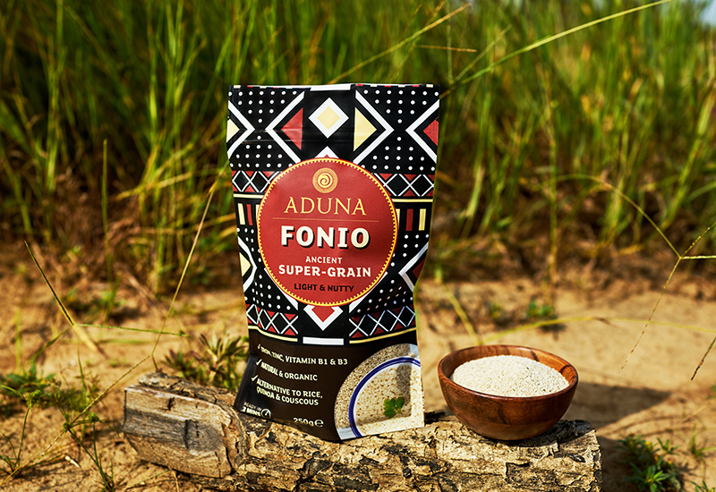 Fonio Grain bowl and pouch