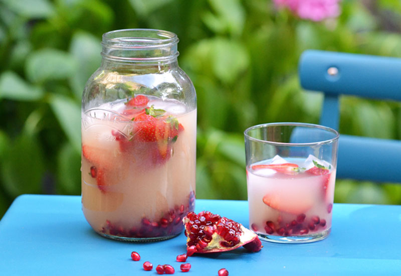Baobab, Berry & Pomegranate Infused Water