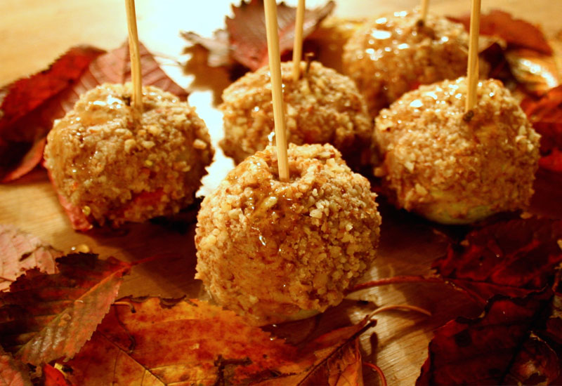 Baobab Sticky Toffee Apples