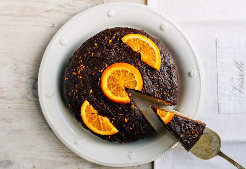 Aduna Chocolate Almond & Orange Cake
