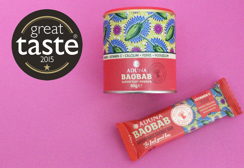 Baobab wins Great Taste Gold