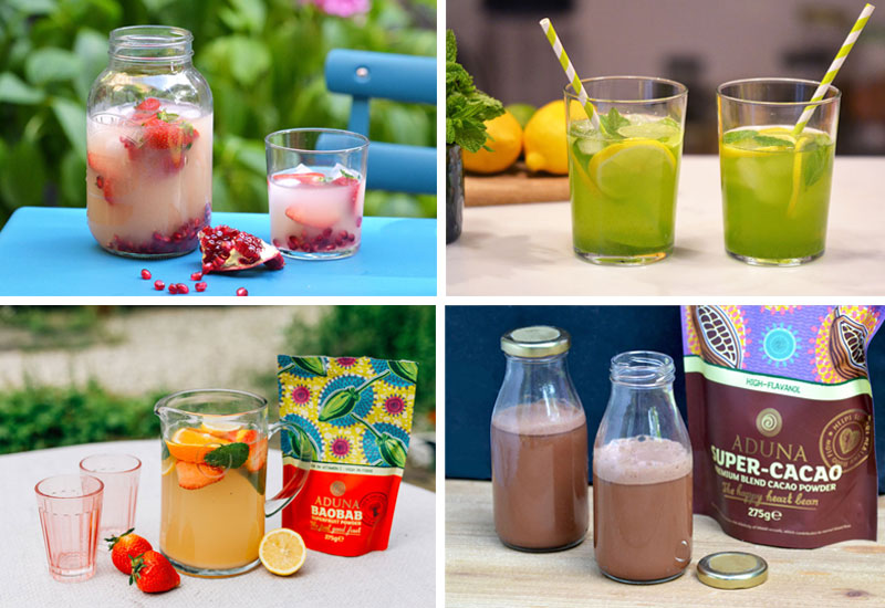 4 Infused Water Recipes