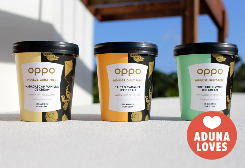 Aduna Loves: Oppo Ice cream