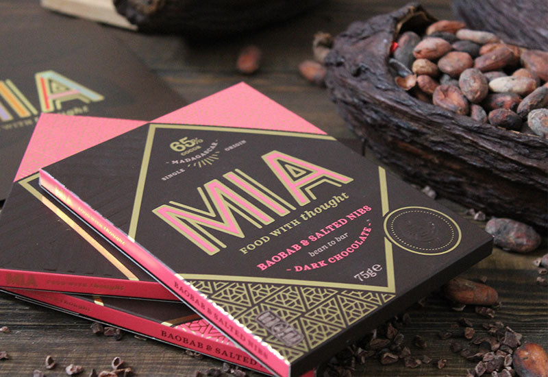 Made In Africa - Baobab & Salted Nibs Dark Chocolate