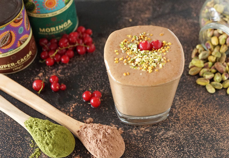 Aduna Moringa Chocolate Smoothie Recipe