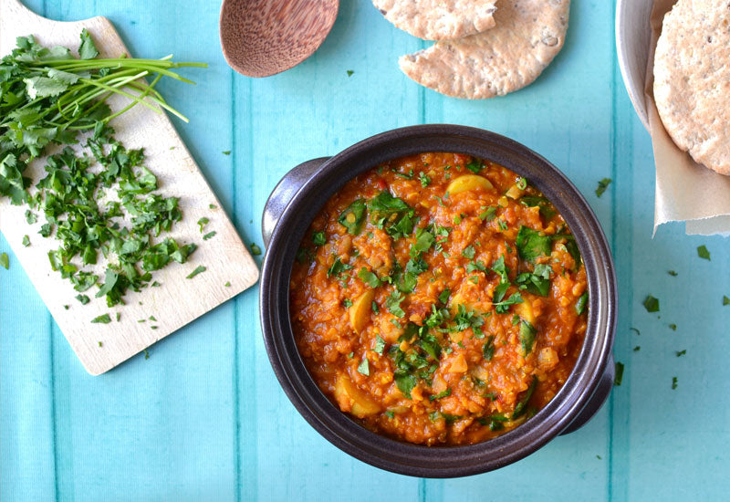 Red Lentil, Spinach & Baobab Curry