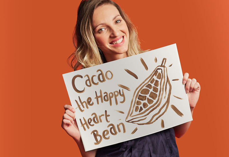 Aduna Super-Cacao: The Happy Heart Bean