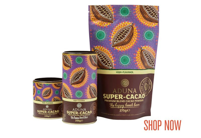 Aduna Super-Cacao Powder Range - Shop Now