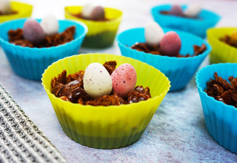 Healthy Easter Nests
