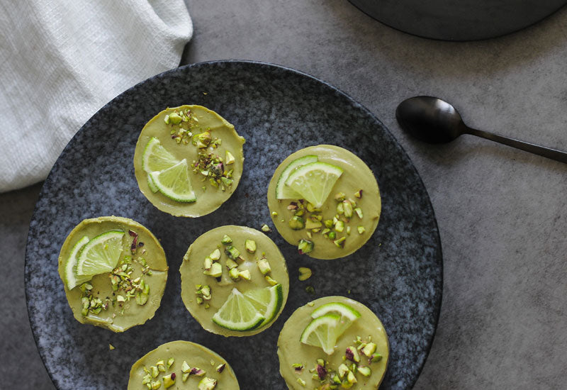 Avocado & Moringa Cheesecakes