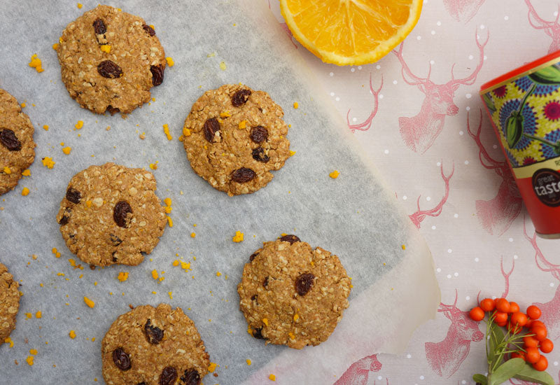 Spiced Orange & Baobab Cookies