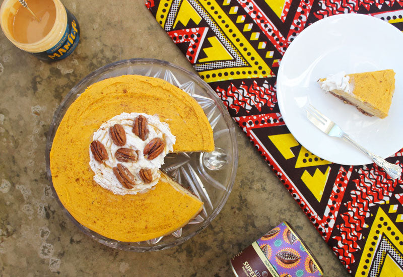 Peanut Butter Pumpkin Cheesecake