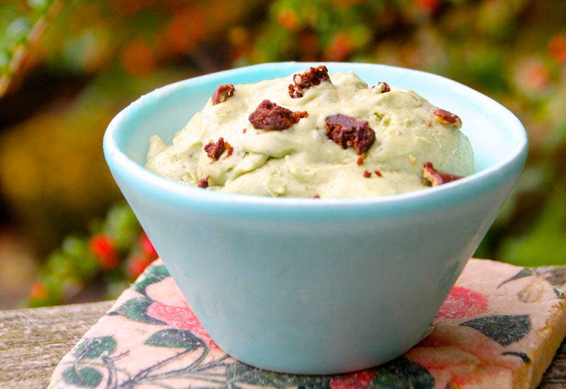 Moringa & Mint Chocolate Chip Ice Cream