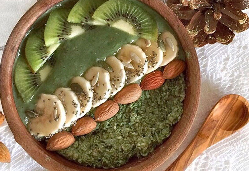 Moringa Porridge & Smoothie Bowl