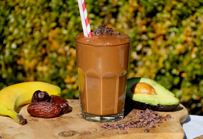 Moringa Banana Chocolate Smoothie