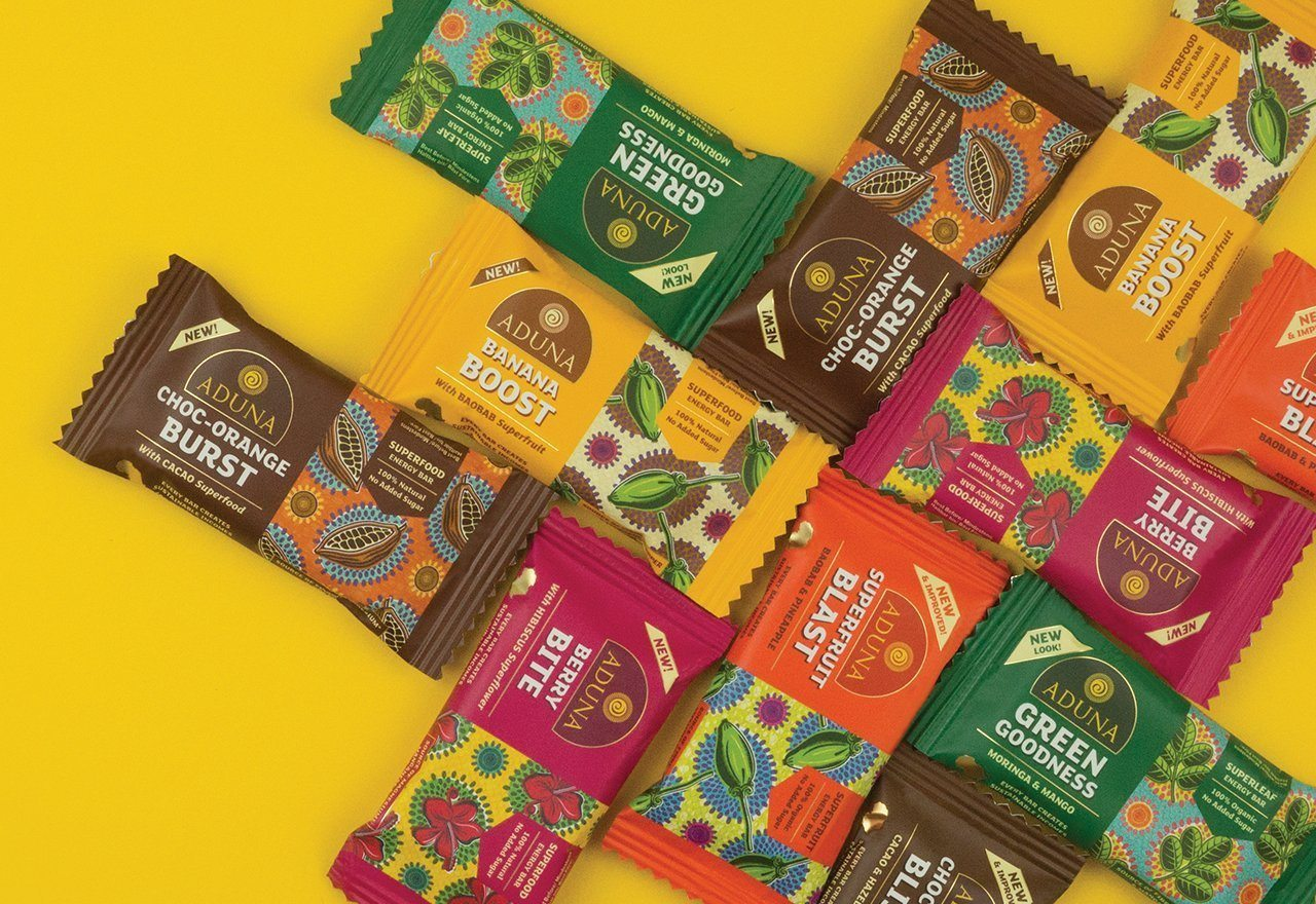 NEW: Aduna Superfood Energy Bars!