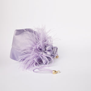 FEATHERS COLLAR BAG