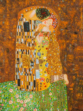Load image into Gallery viewer, 72003 (7288-10) 44x56 Framed Painting - The Kiss