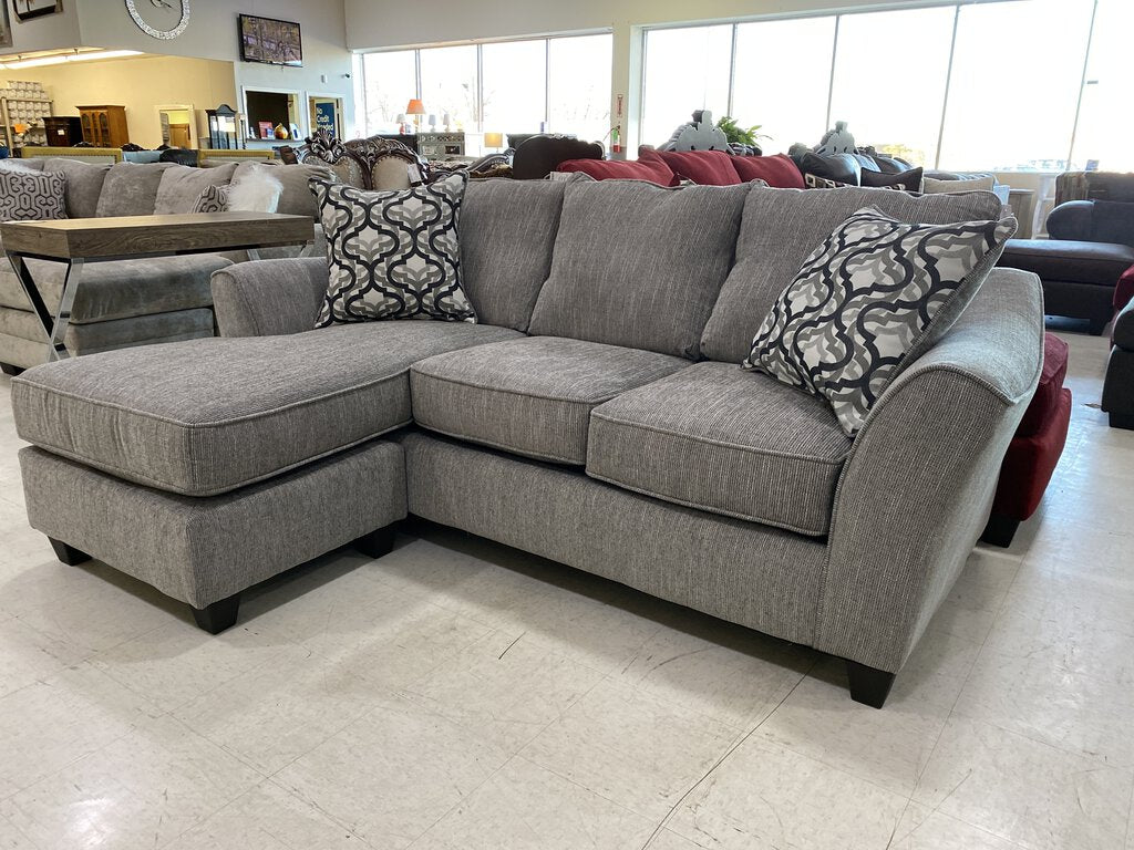 Dante Concrete NEW Reversible Sectional 87x38x39/64 (4557)
