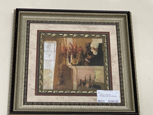 Load image into Gallery viewer, 72527 (7492-6) 29x29 Framed Artwork - Fireplace w/Urn - REDUCED