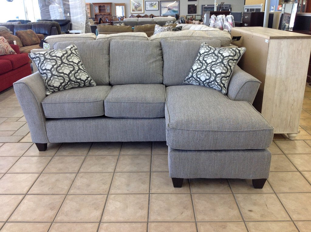 Dante Concrete NEW Reversible Sectional 88x36/62x38