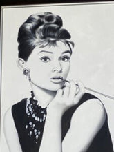 Load image into Gallery viewer, 70994 (7288-1) 32x44 Framed Painting - Audrey Hepburn
