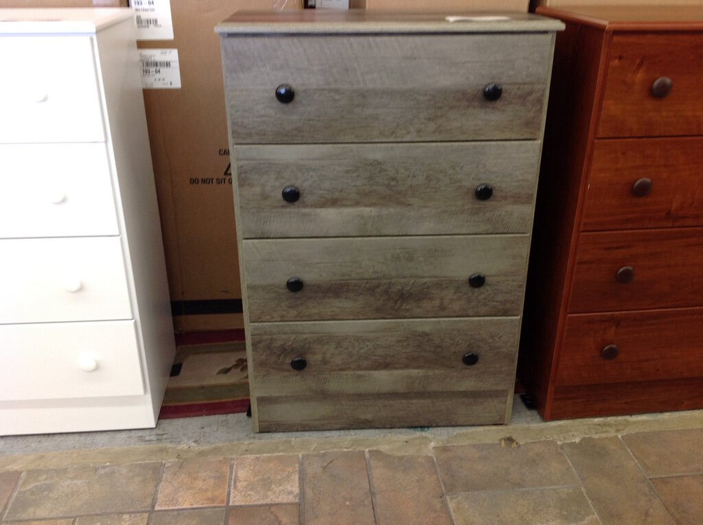 Promo 21 NEW Gray 4 Drawer Chest 27x15x39
