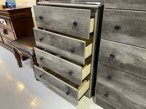 Promo 21 Gray 4 Drawer Chest 27x15x39
