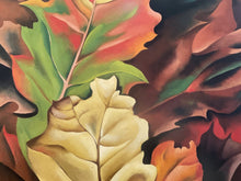 "Load image into Gallery viewer, 74043 (7592-2) 30x1x37 Georgia O'Keeffe Framed Print ""Autumn Leaves"""