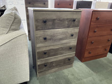 Load image into Gallery viewer, Promo 21 NEW Gray 4 Drawer Chest 27x15x39