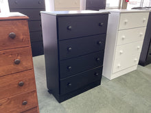 Load image into Gallery viewer, Promo 21 NEW Black 4 Drawer Chest 27x15x39