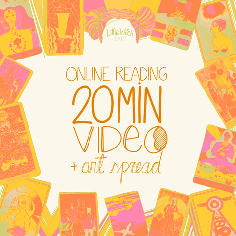 Online Reading - 20 min recorded video + art work