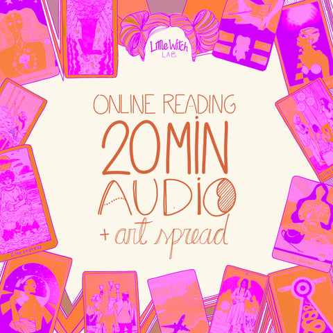 Online Reading - 20 min recorded audio + art work