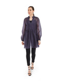 Rocky Star Organza Gathered Tunic