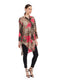 Rocky Star Printed Long Tunic Shirt